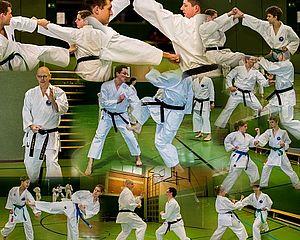 Collage aus dem Training