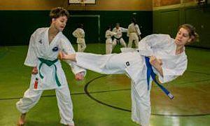 Aus dem Training - Kumite