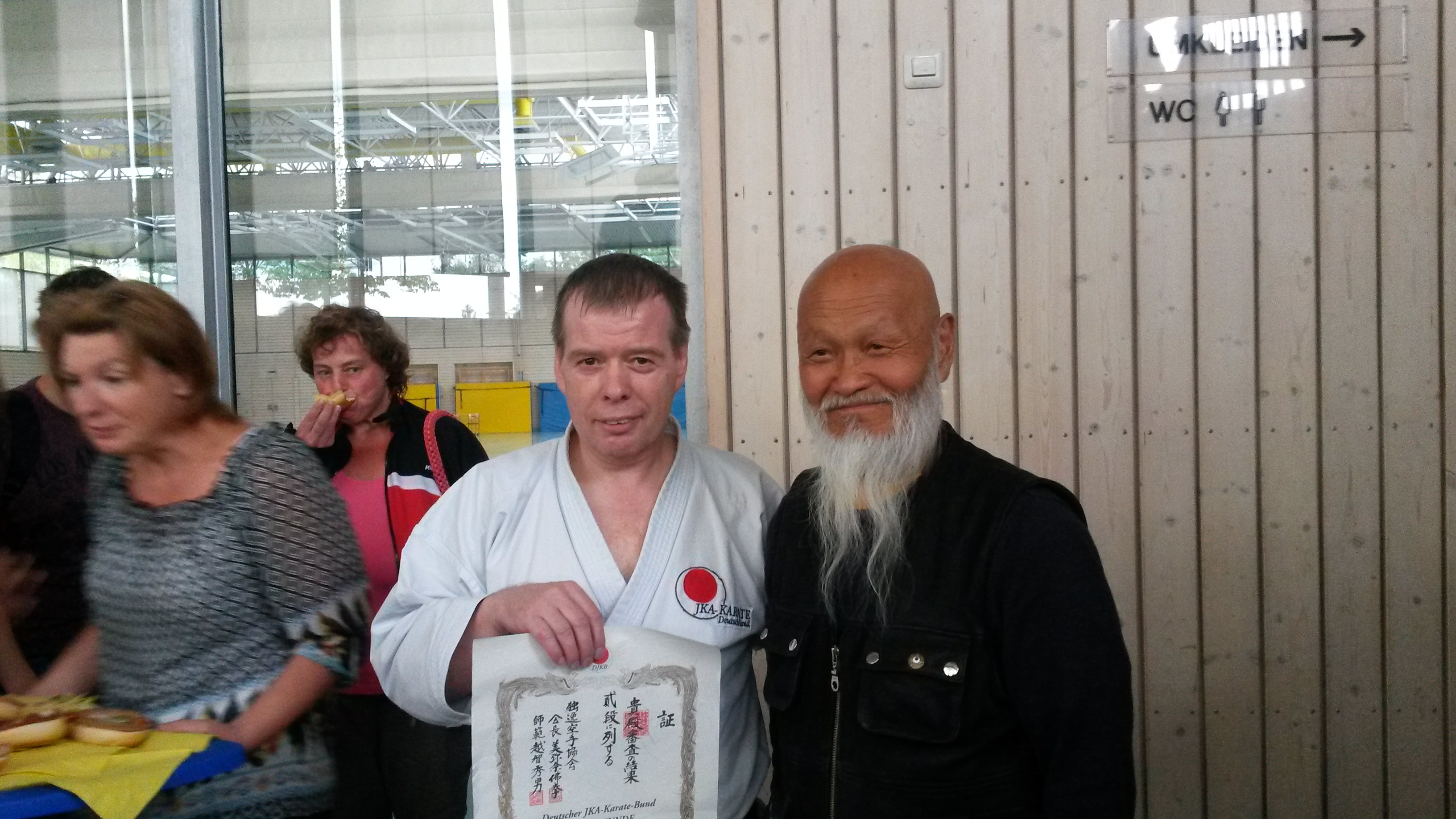 Wolfgang Plagge und Shihan Ochi